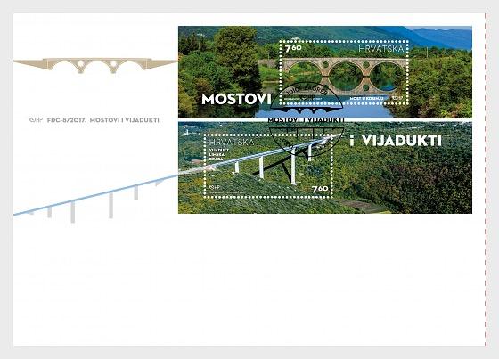 Puentes y Viaductos - Sobre de Primer Dia