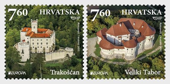 Europa 2017 - Castles - Set