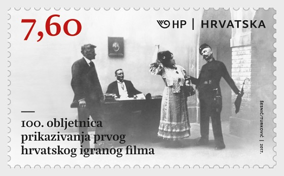 100th Ann of the Premiere of the First Croatian Motion Picture - Set