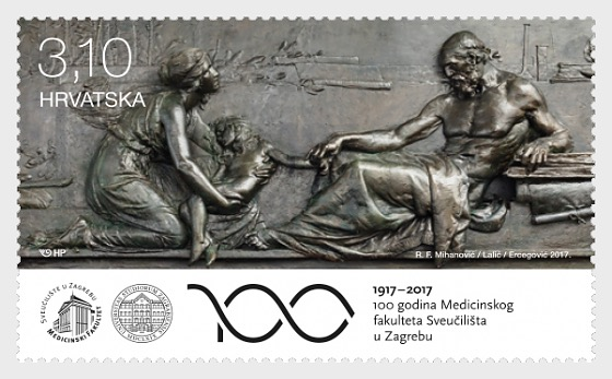 100 Years of the Medicine at the University of Zagreb - Set