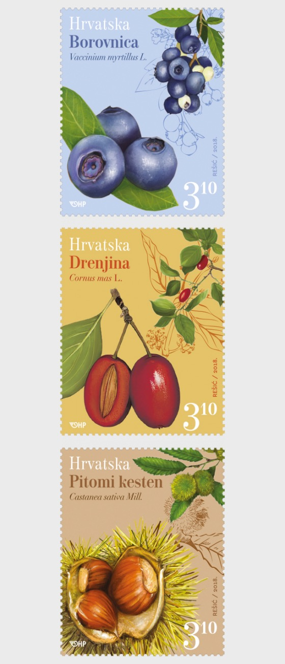 Croatian Flora 2018 - Set