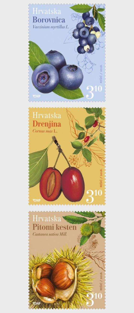 Croatian Flora 2018 - Set
