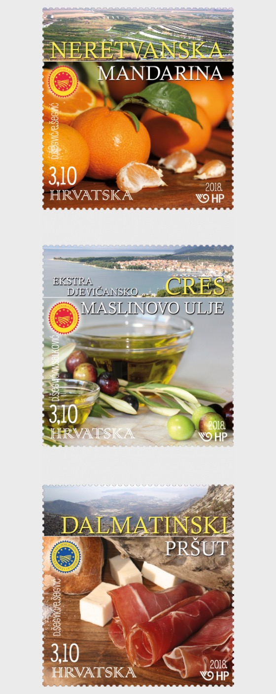 Protected Croatian Agricultural and Food Products - Set