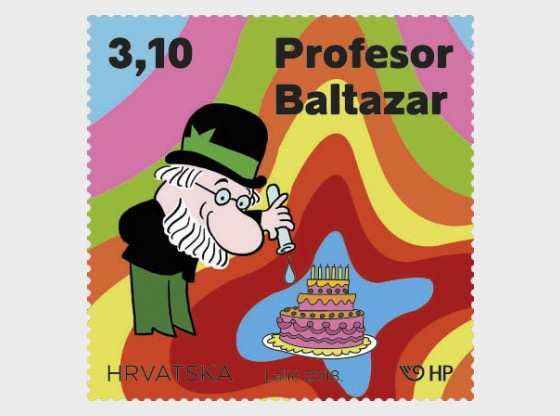 50th Anniversary of the Creation of the Professor Balthazar Animated Series (C) - Set