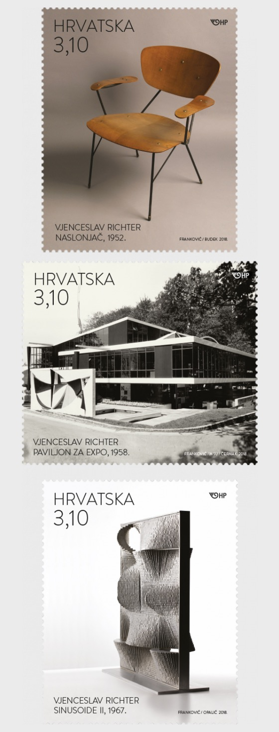 Modern Architecture and Design - Vjenceslav Richter - Set