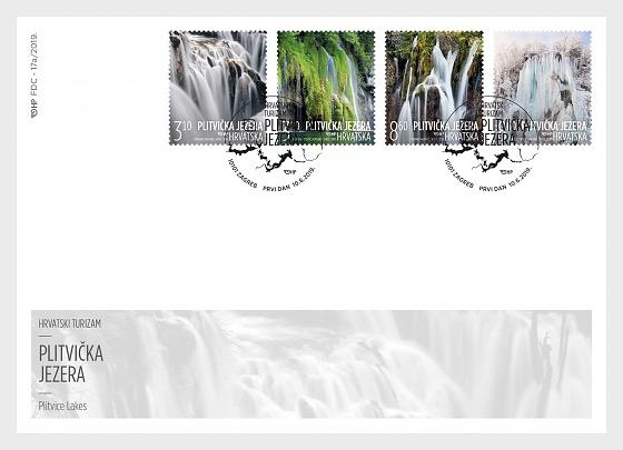 Tourisme Croate - Enveloppes de Premier Jour