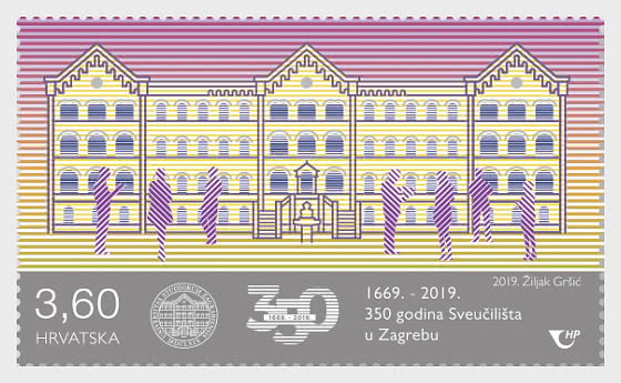 350 Years of the University of Zagreb - Set
