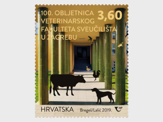100th Ann of the Faculty of Veterinary Medicine at the University of Zagreb (C) - Set