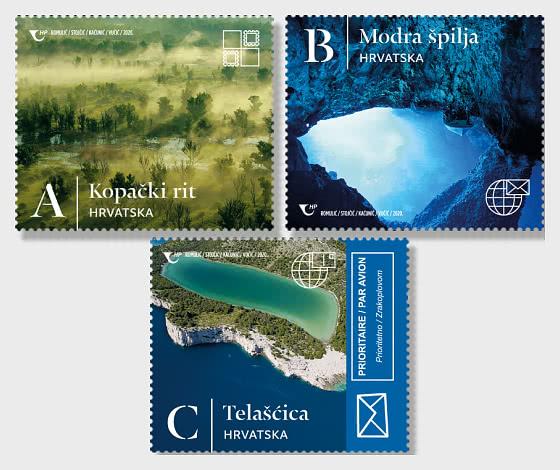 Merveilles Naturelles de la République de Croatie (Définitive) - Séries