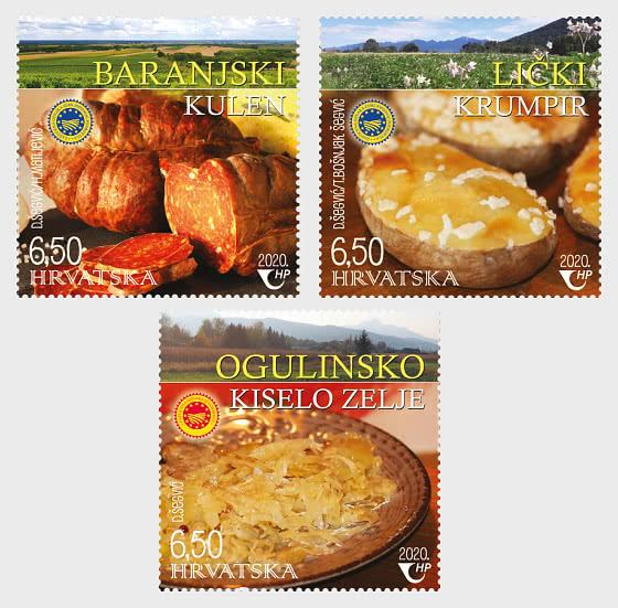 Produits Agroalimentaires Croates Protégés (C) - Séries