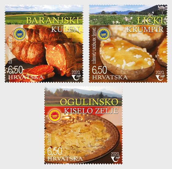 Productos Agroalimentarios Croatas Protegidos (C) - Series