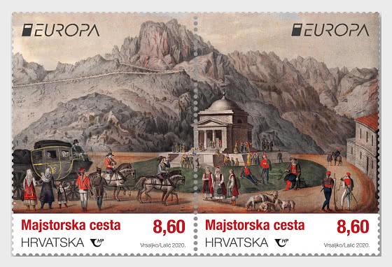 Europa 2020 - Old Postal Routes - Set