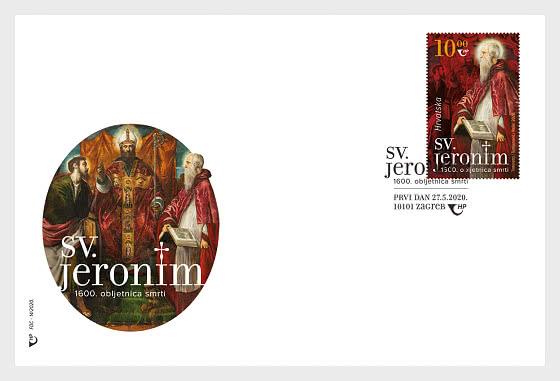 1600e Anniversaire de la Mort de Saint-Jérôme - Enveloppes de Premier Jour