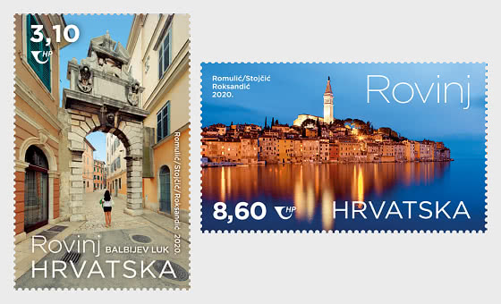 Tourisme Croate - Rovinj - Séries
