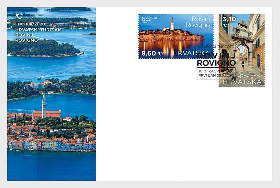 Croatian Tourism – Rovinj-Rovigno - First Day Cover