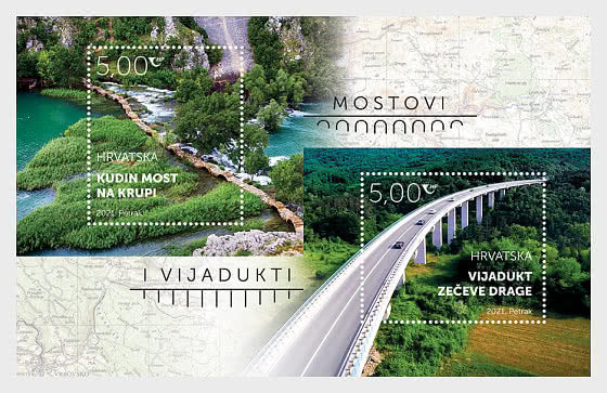 Bridges and Viaducts 2021 - Miniature Sheet
