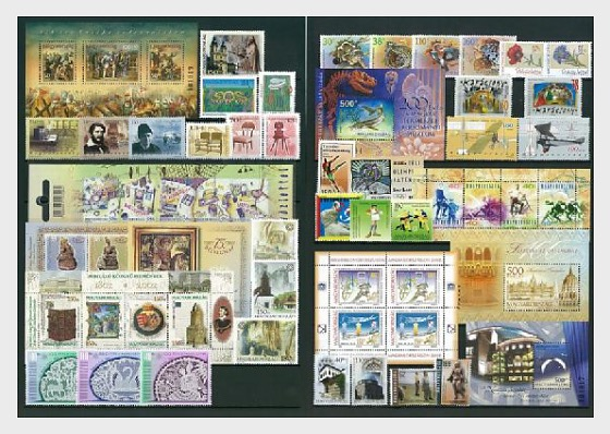Year Set 2002 - Year Collections