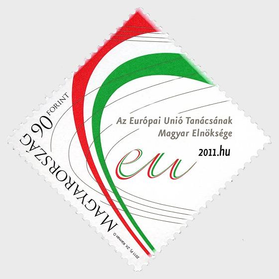 La Presidenza Ungherese del Consiglio del Timbro dell'Unione Europea - Serie