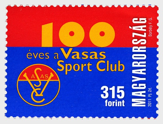 Vasas Club Sportivo ha 100 Anni - Serie