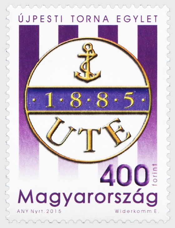 The sports club Újpest TE is 130 years old - Set