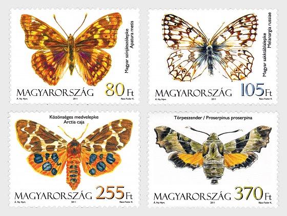 Fauna di Ungheria- Falene e Farfalle  - Serie