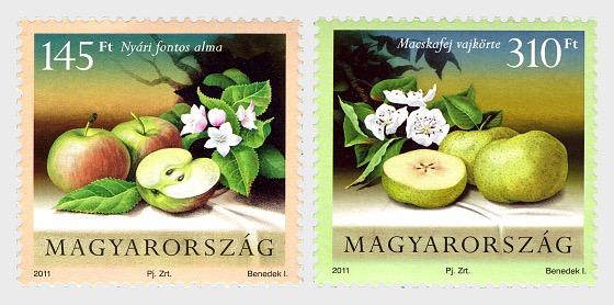 Flora Coltivate di Ungheria- Frutta - Serie