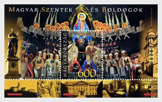 Hungarian Saints and Blesseds III - Saint Astrik (Special) - Miniature Sheet