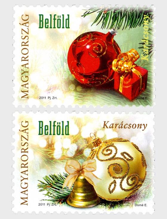 il Proprio Timbro di Natale 2011 - Serie