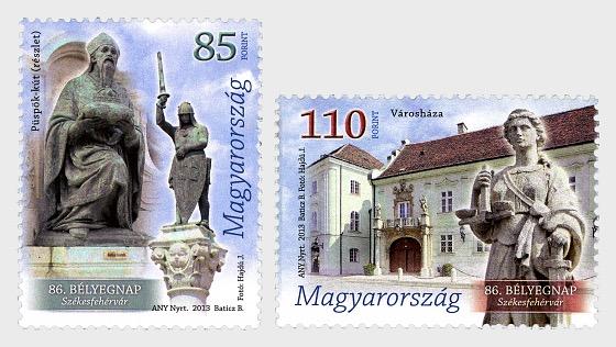 86th Stamp Day Székesfehérvár - Set