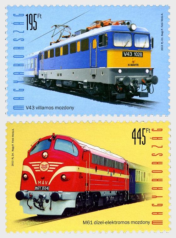 Locomotives - Set