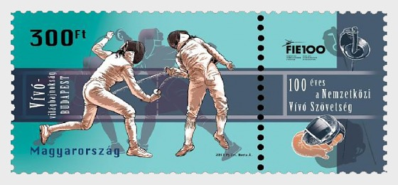 World Fencing Championships, Budapest - Centennial of the International Fencing Federation - Set