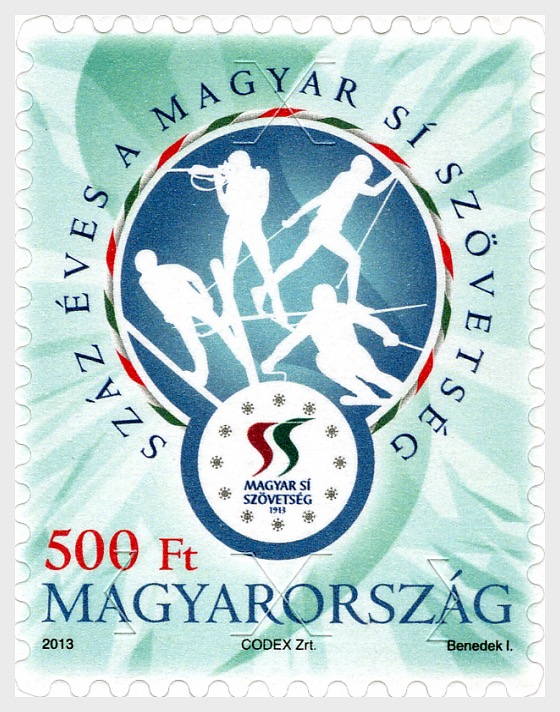 The Hungarian Ski Association is 100 Years Old - Set