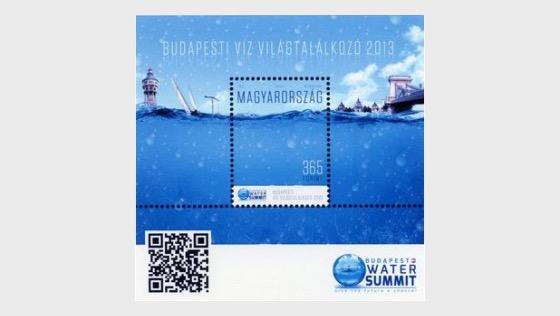 Budapest Water Summit - Miniature Sheet