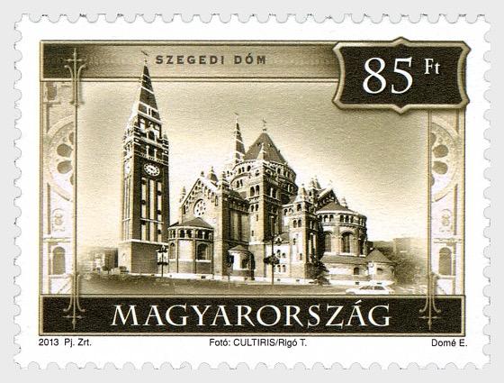 Tourism IV (2) Szeged Cathedral - Set