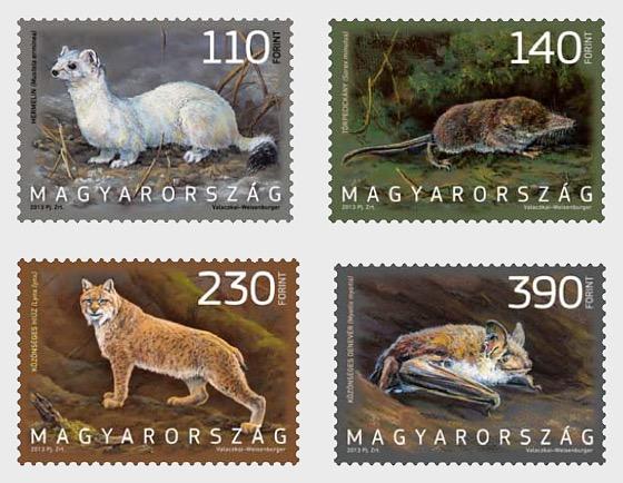 Fauna of Hungary 2013 - Set
