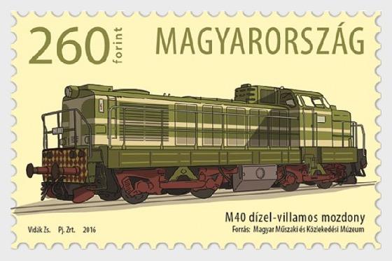 La Prima Locomotiva M40 è Entrato in Servizio in Ungheria 50 Anni Fa - Serie