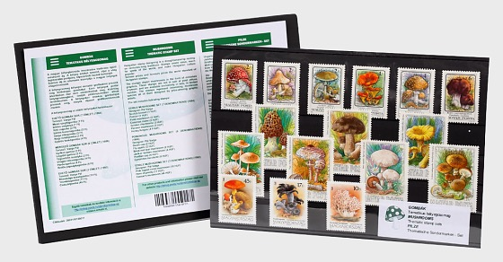 Thematic Stamp Set- Mushrooms - Collectibles