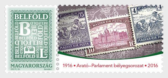 La serie Mietitore e Parlamento ha 100 anni - Serie