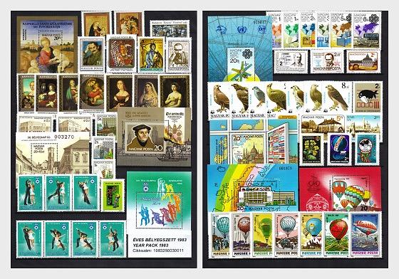 Anno Completo 1983 - Prodotti annuali