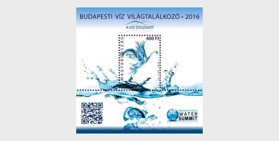 Sommet de l'eau de Budapest - Blocs feuillets