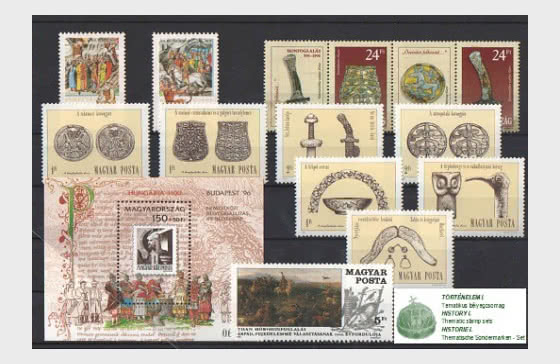 Thematic Stamp Sets- History I  - Collectibles