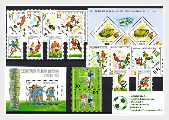 Thematic Stamp Sets- Football I  - Collectibles
