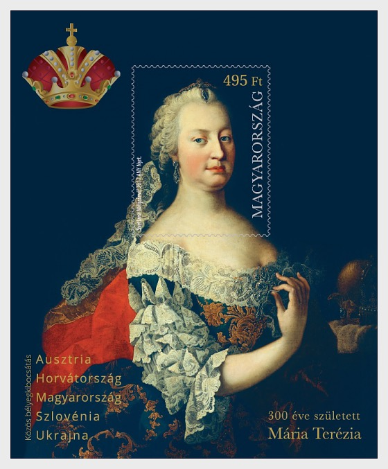 Maria Theresa was Born 300 Years Ago - Miniature Sheet