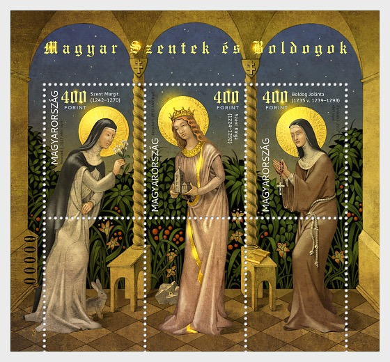 Hungarian Saints and Blesseds V - Miniature Sheet