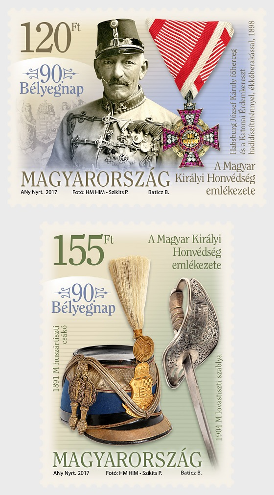 90th Stamp Day - Set