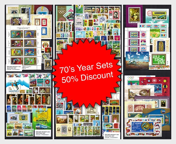 Spring Offer - 70's Year Set Collection at 50% Discount!* - Annual Product