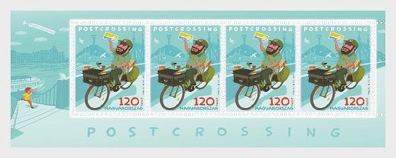 Postcrossing - Miniature Sheet