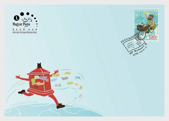 Postcrossing - (FDC Stamp) - First Day Cover