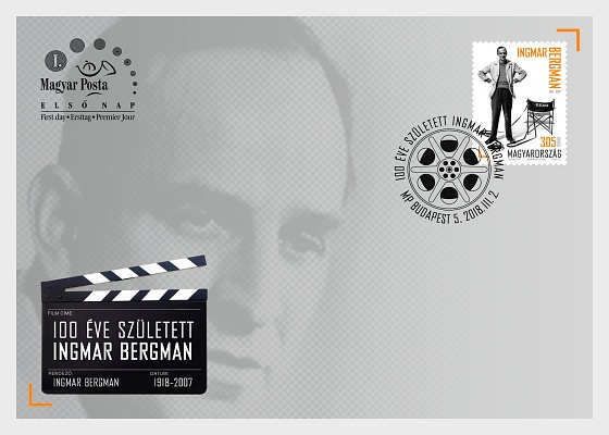 Ingmar Bergman was Born 100 Years Ago - First Day Cover