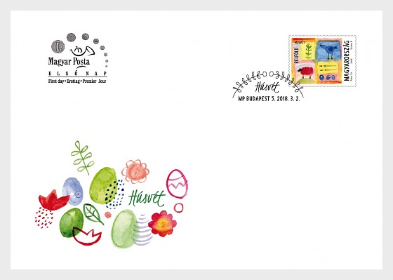 Easter 2018 - First Day Cover